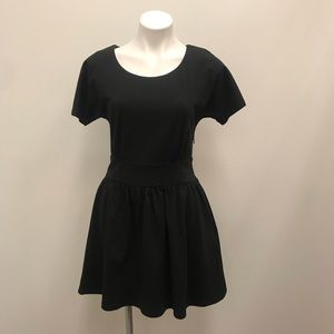 Julie Brown Black LDB Dress With Cut Out Back